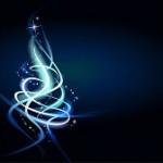 Swirl blue cosmic